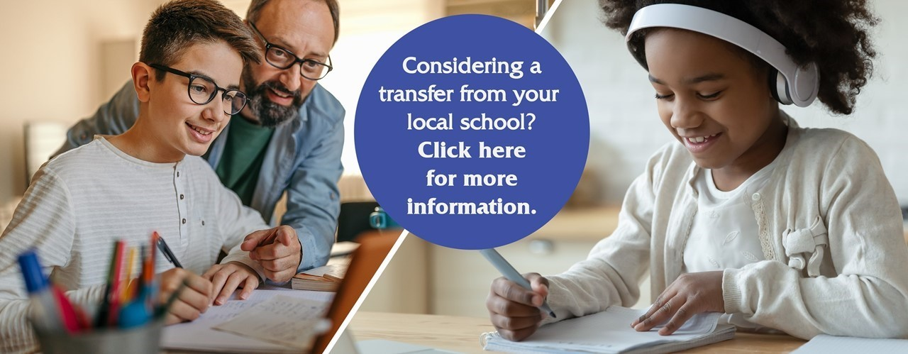 Considering a transfer from your local school? Click here for more information.